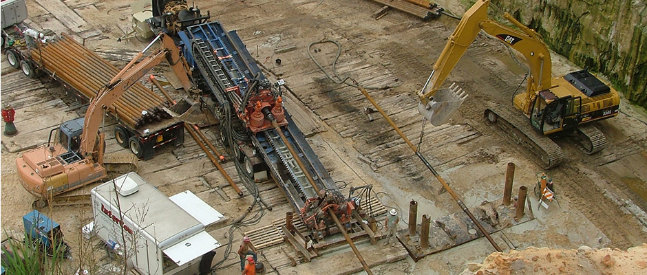 Horizontal Directional Drilling - Intercon Construction